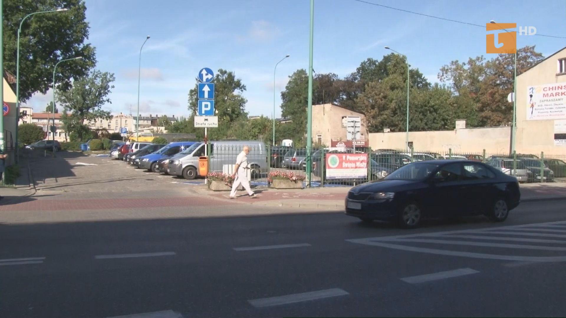 Zmieniona została organizacja ruchu na parkingu przy ulicy Westerplatte