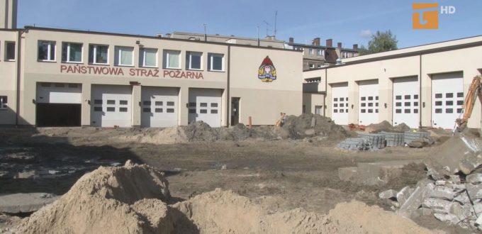 Remont placu manewrowego straży pożarnej będzie kosztować około półtora miliona złotych