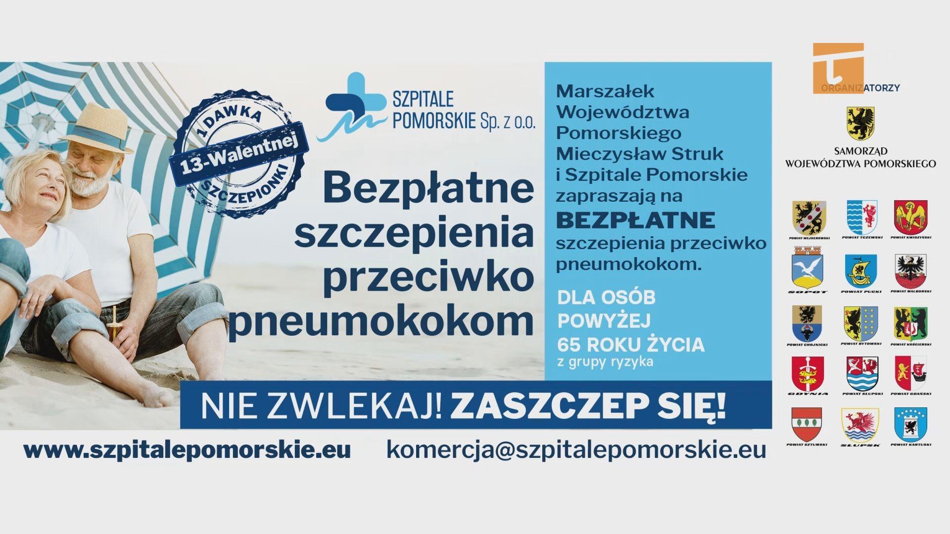 Około dwustu mieszkańców powiatu tczewskiego zostanie zaszczepionych przeciwko pneumokokom