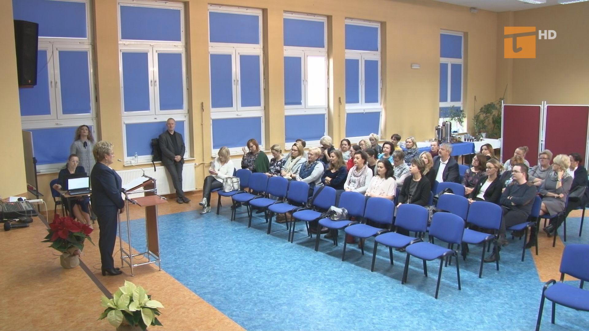 W szkole podstawowej nr 1 zorganizowano spotkanie na temat przeciwdziałania przemocy wobec dzieci