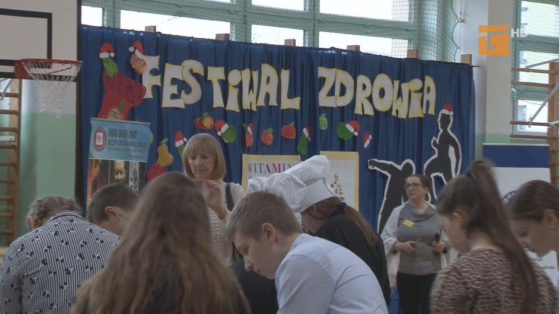 W SP nrr 12 odbył się Powiatowy Festiwal Zdrowia