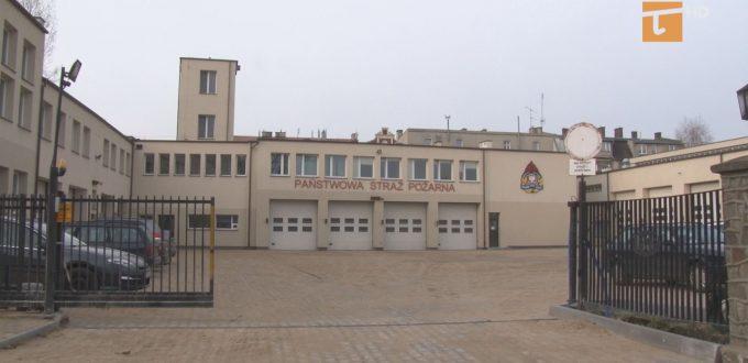 Wkrótce powinien zakończyć się ostatni etap remontu placu manewrowego straży pożarnej