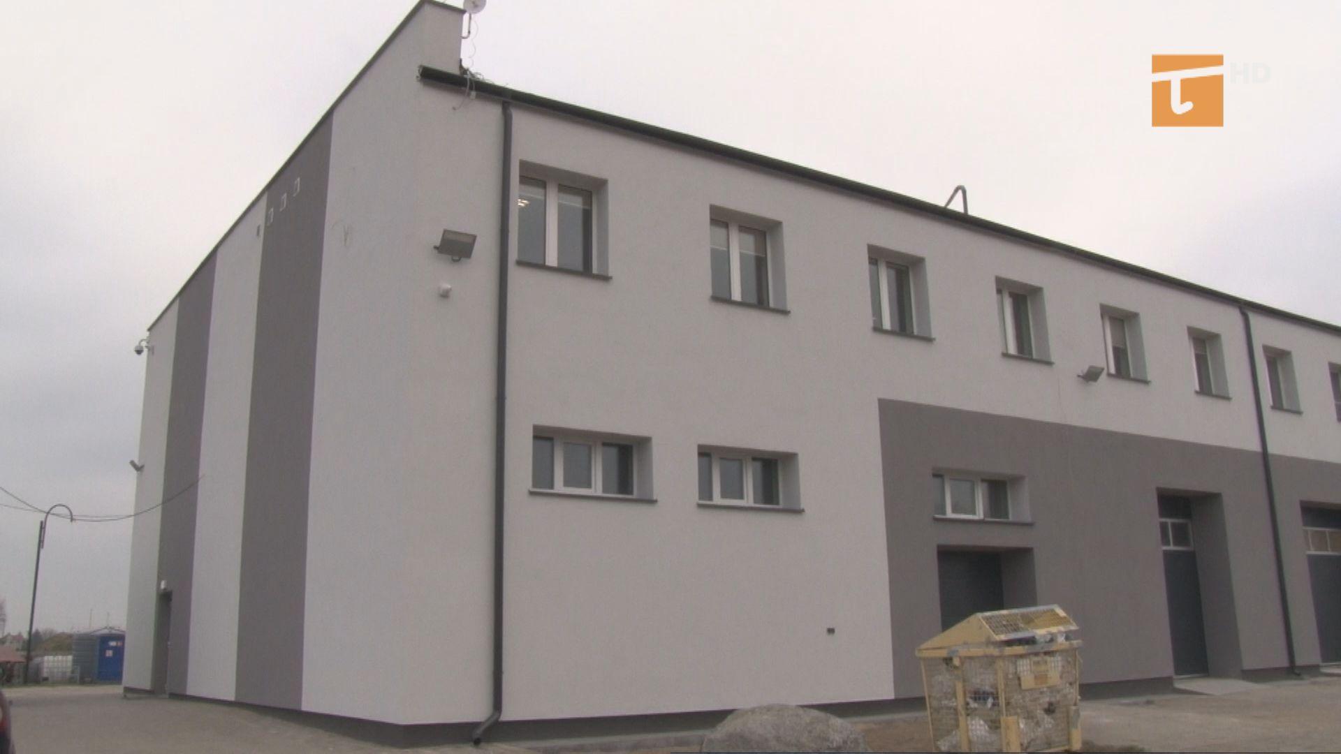 Budynek zakładu usług komunalnych jest już docieplony