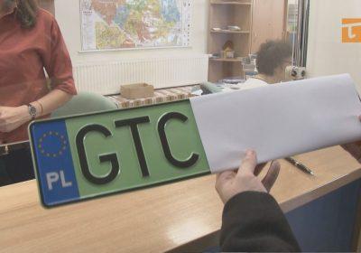 zielone tablice rejestracyjne