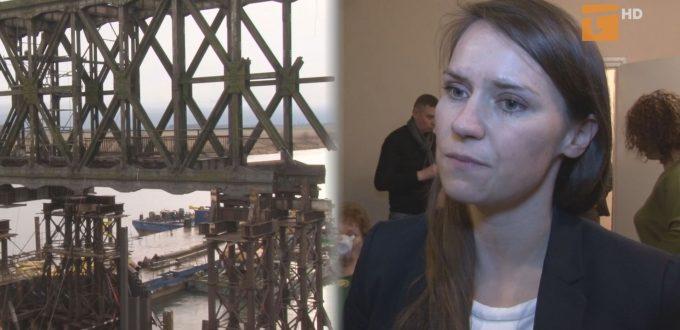 Kolejna posłanka pyta rząd o most