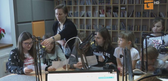 dzieci w radiu tczew