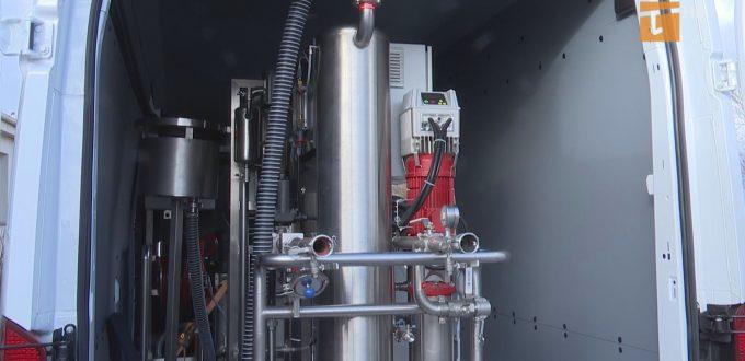Zakład Wodociągów i Kanalizacji zakupił mobilny zestaw ozonujący SPID