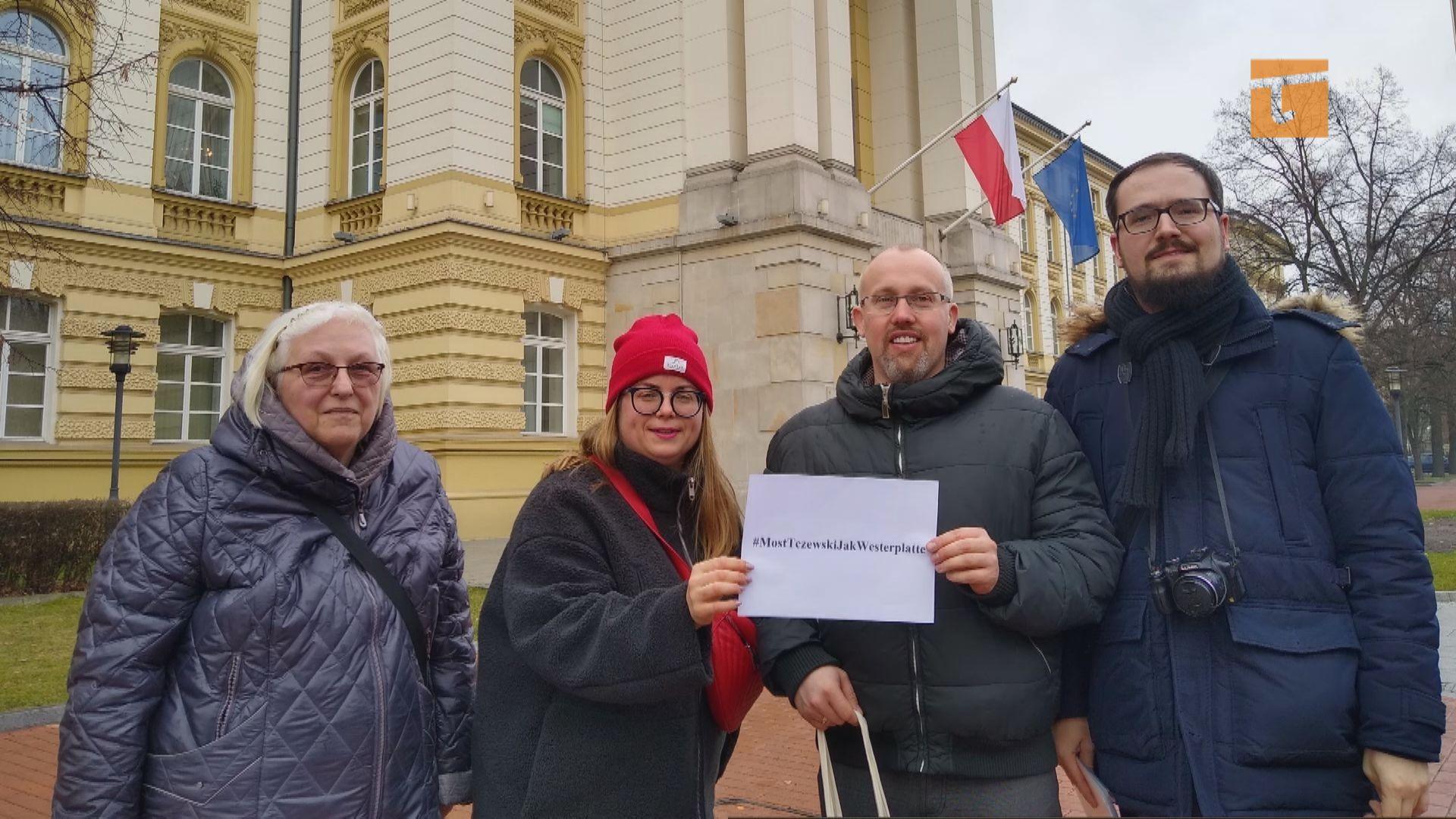Petycja o moście trafiła do premiera