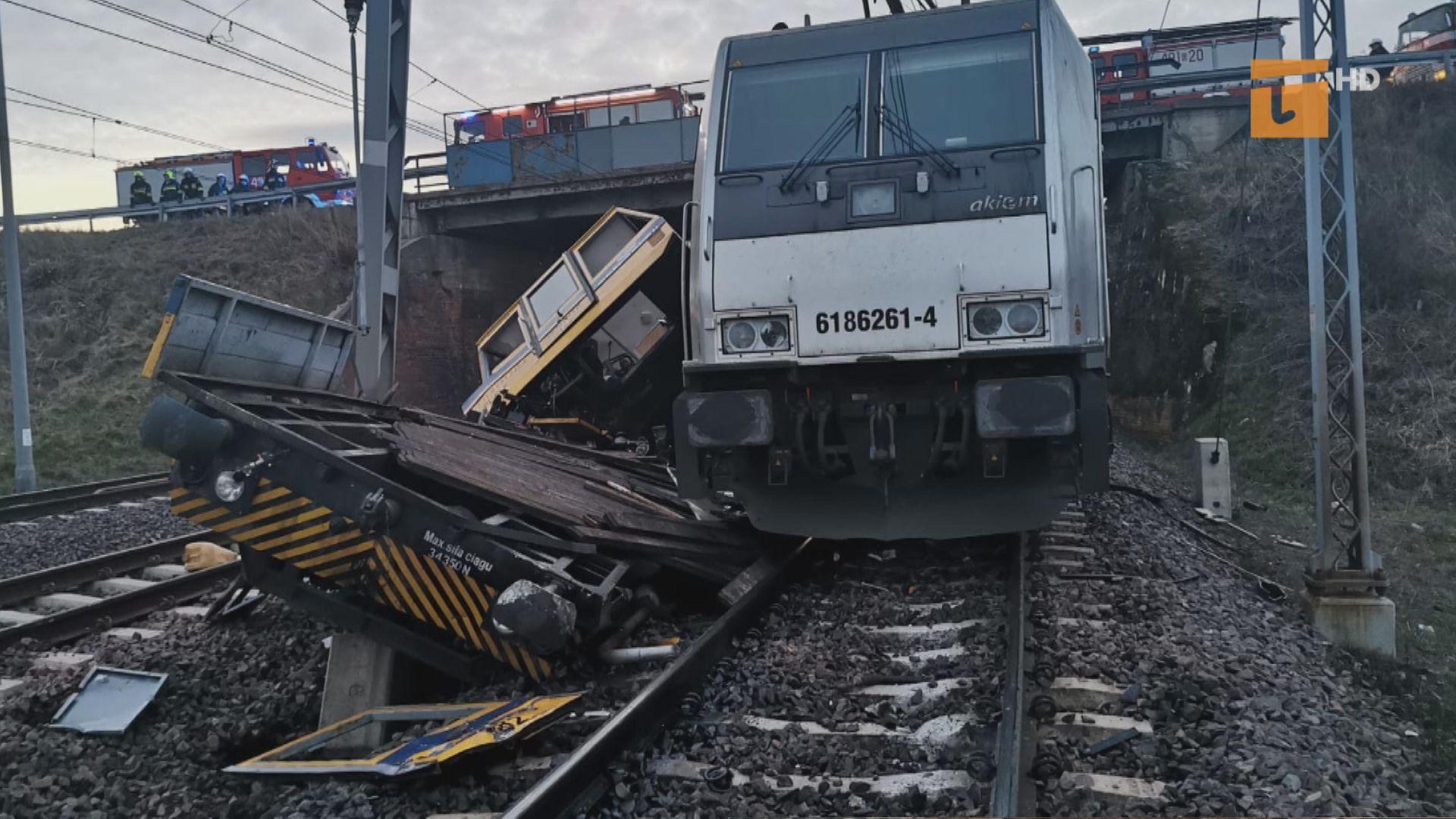 Tragiczny wypadek. Zginęło dwóch kolejarzy