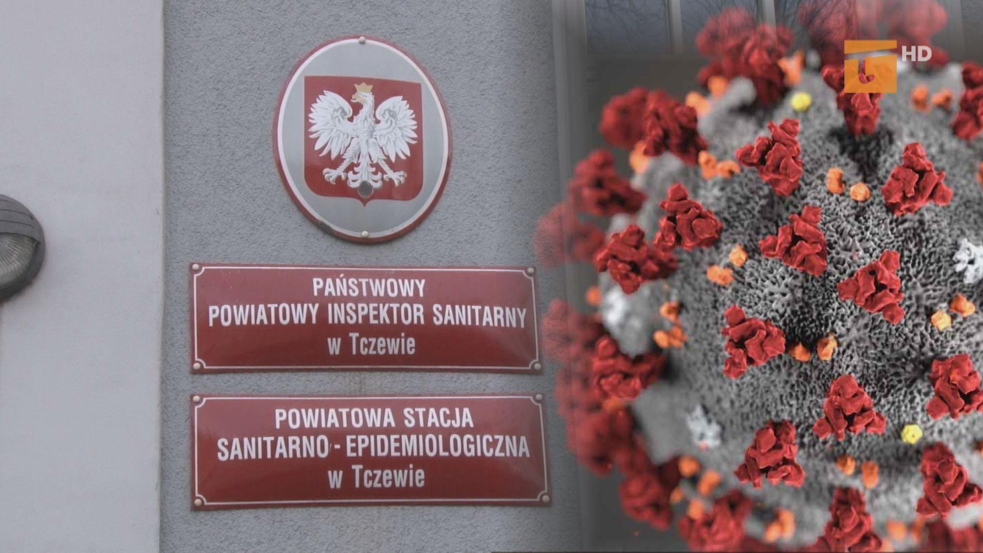 Trzy osoby zakażone w powiecie tczewskim