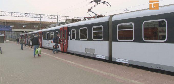 Mniej podróżnych w pociągach