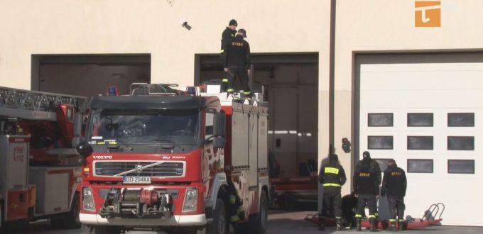 Działania realizowane przez straż pożarną w związku z koronawirusem na terenie powiatu tczewskiego prowadzone są rutynowo