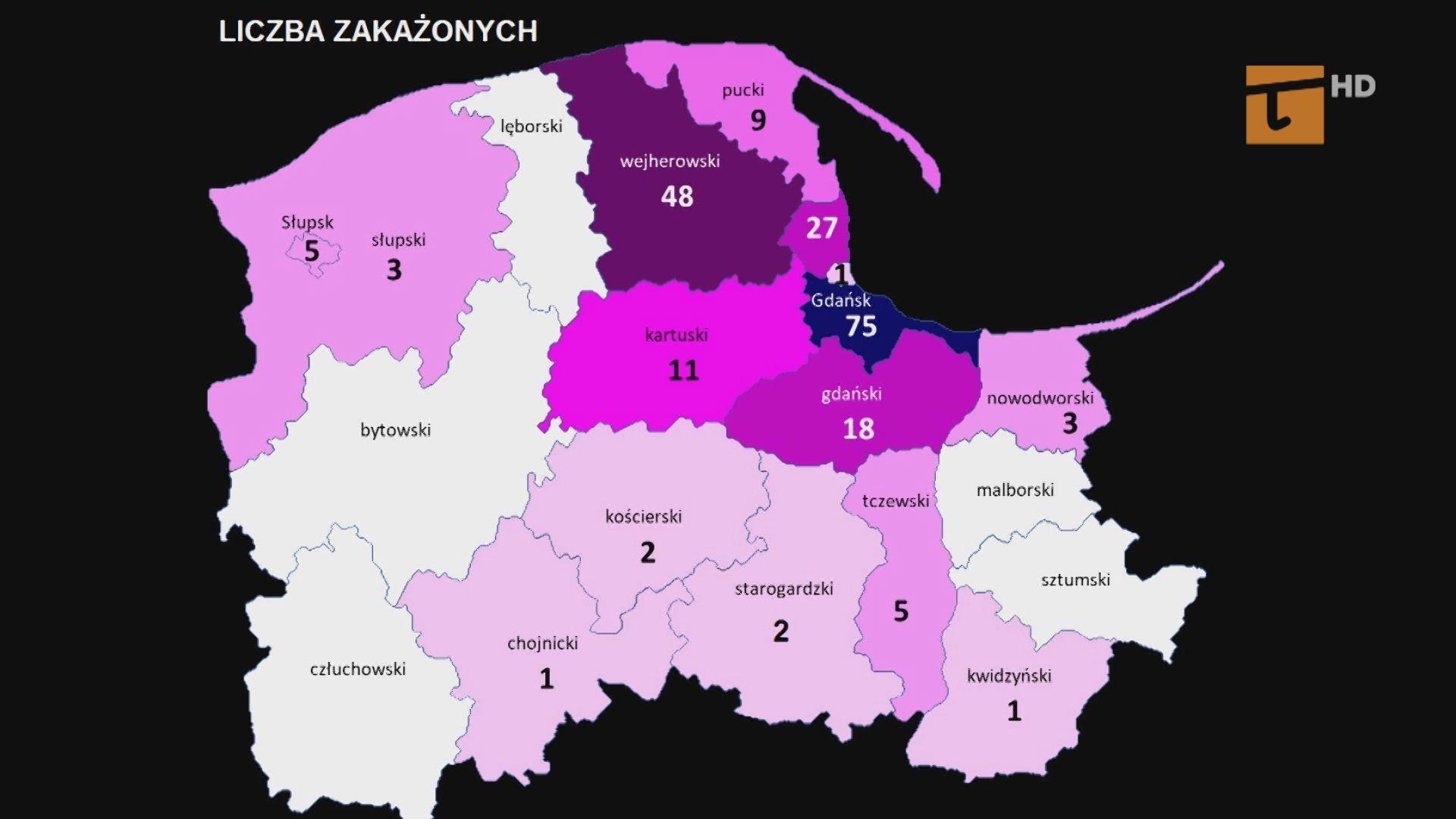Piąty zakażony w powiecie tczewskim