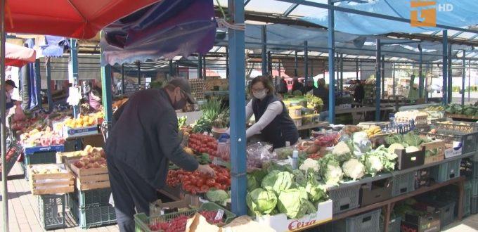 Tczewskie targowiska ruszyły ze sprzedażą warzyw, owoców i kwiatów