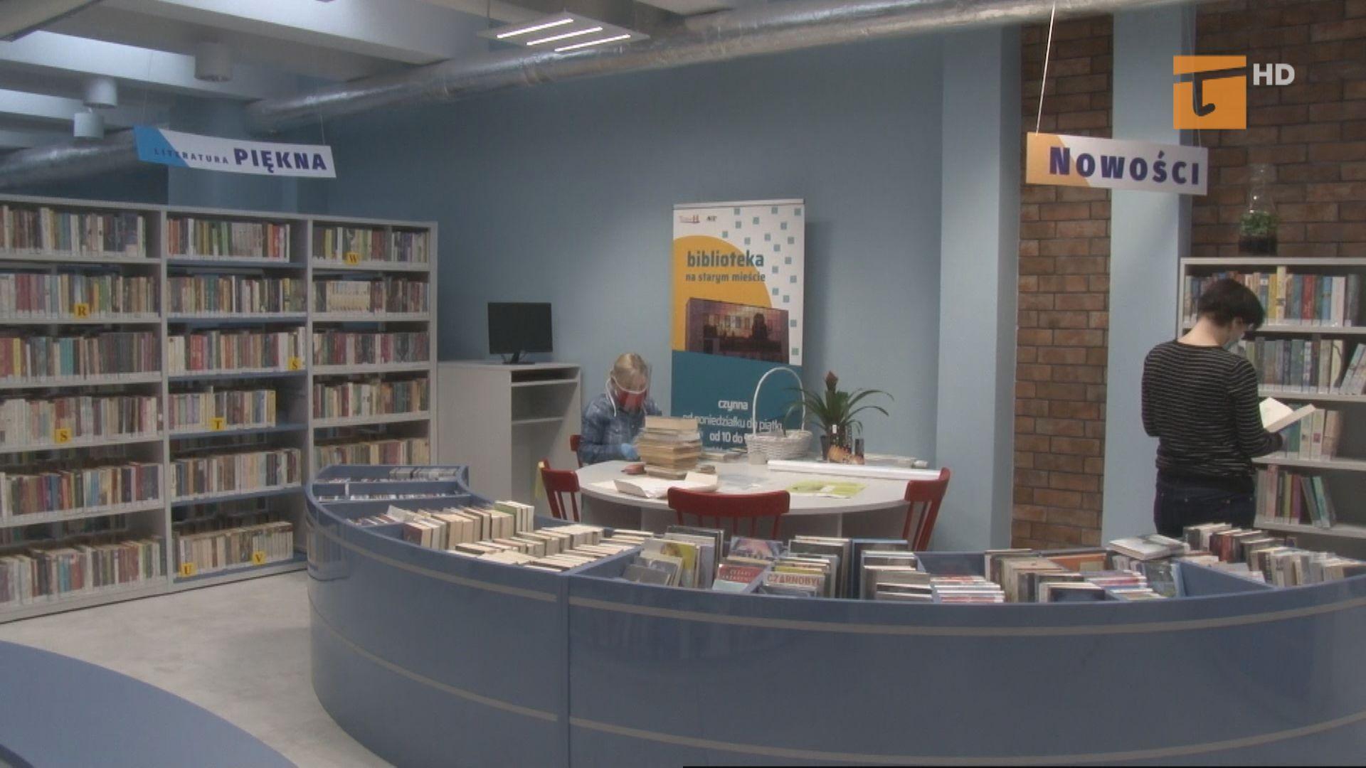 Jak wyglądają przygotowania tczewskich bibliotek do ponownego otwarcia?
