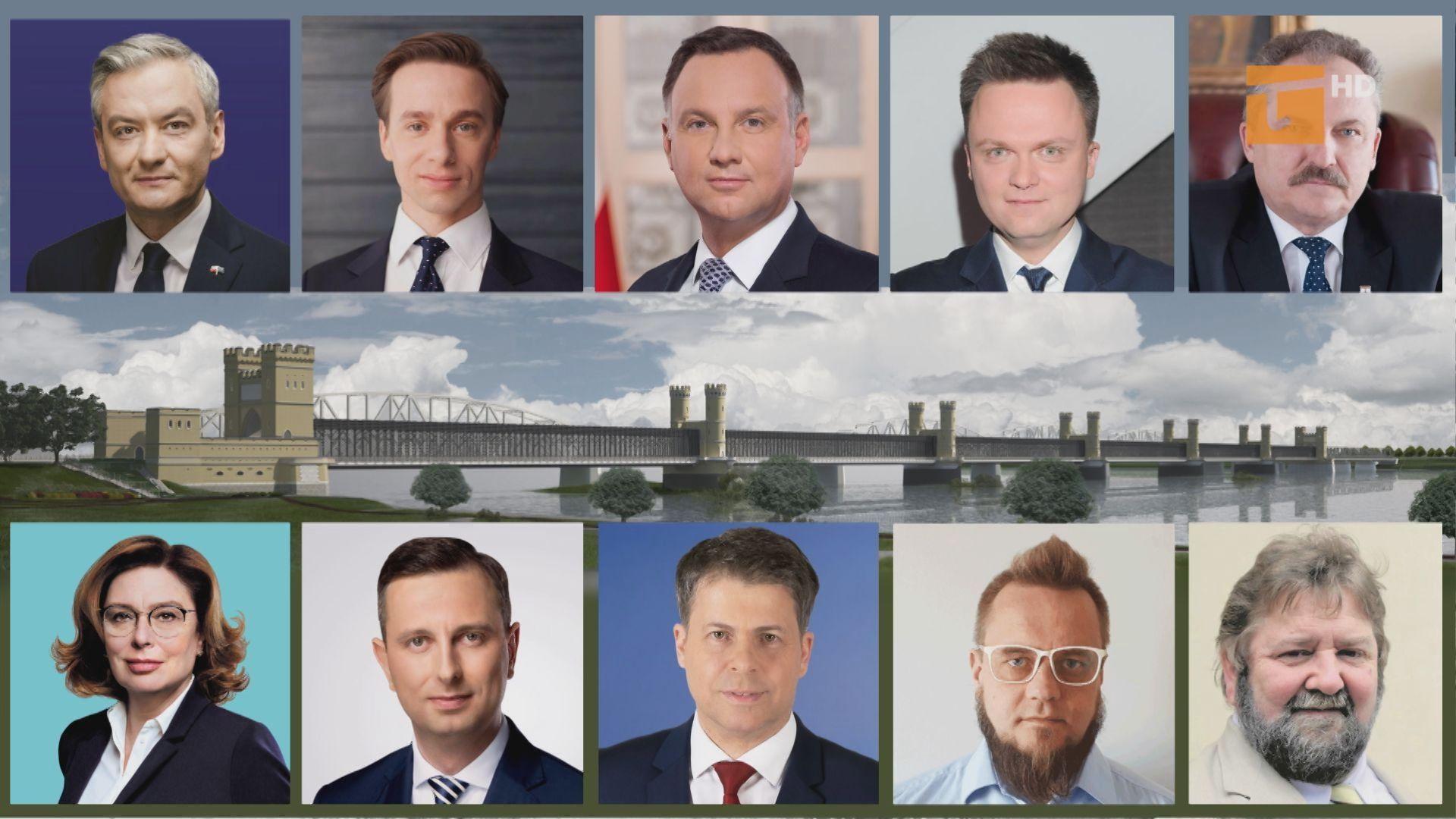 Most połączył kandydatów na prezydenta