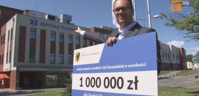 Milion złotych otrzymał tczewski szpital powiatowy na dezynfekcję i środki ochrony osobistej