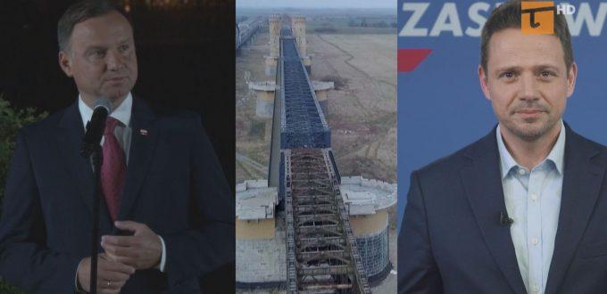 Prezydent Duda milczy, Trzaskowski wspiera