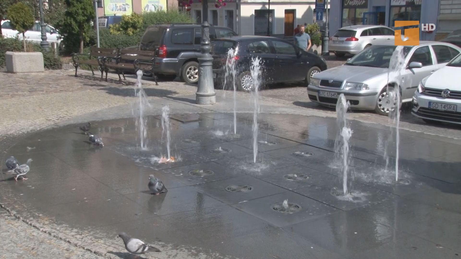 Tczewskie fontanny znów działają
