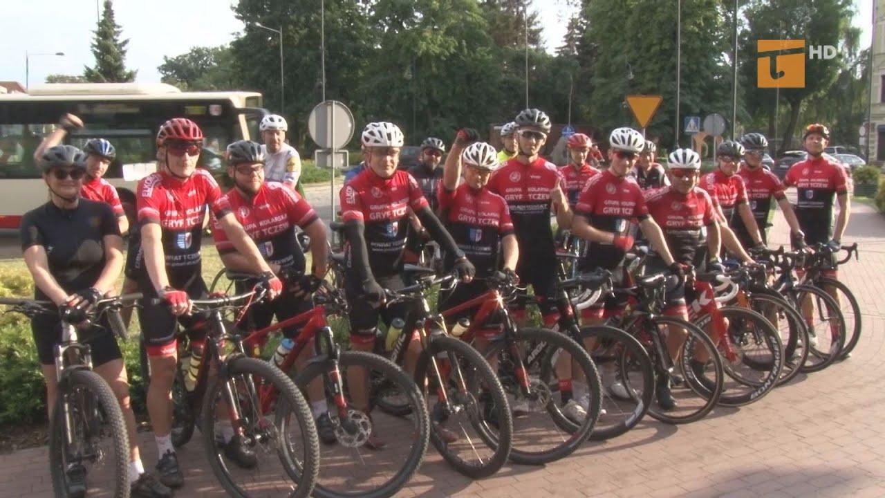 Kolarska grupa rowerowa Gryf