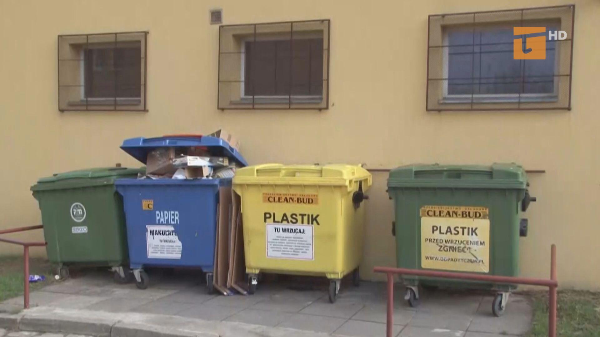 Będą mandaty za niesegregowanie śmieci