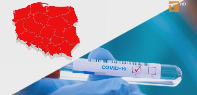 Czerwona strefa w całej Polsce