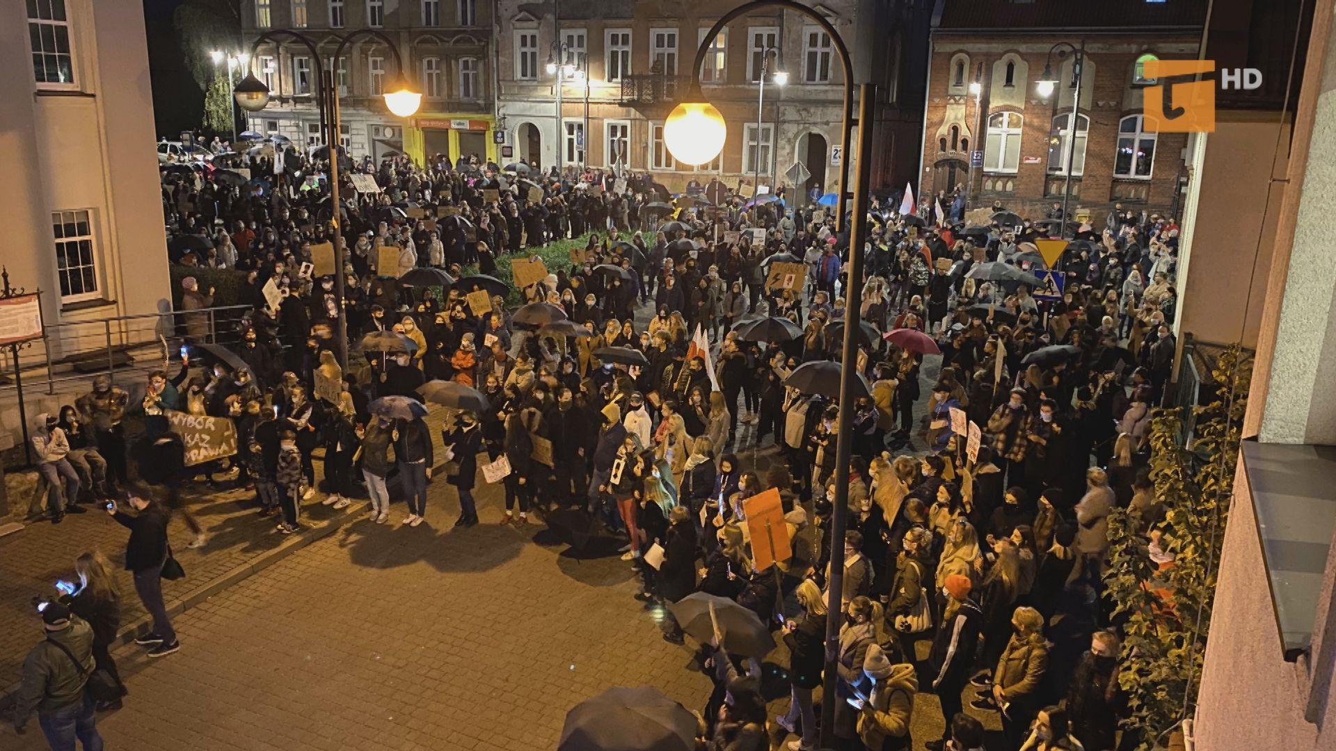 Tczewianki masowo wyszły na ulice