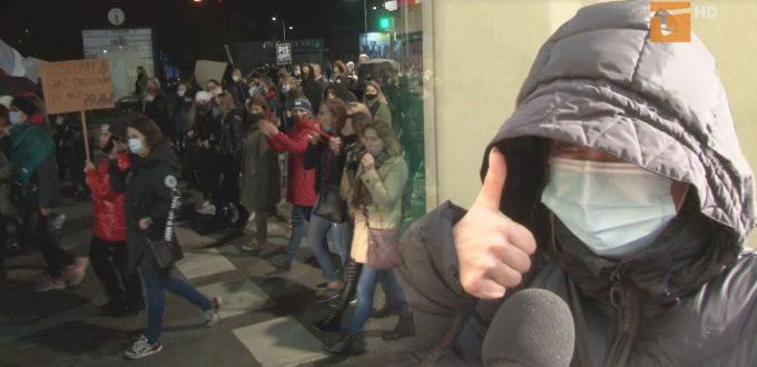 Protesty kobiet - za czy przeciw