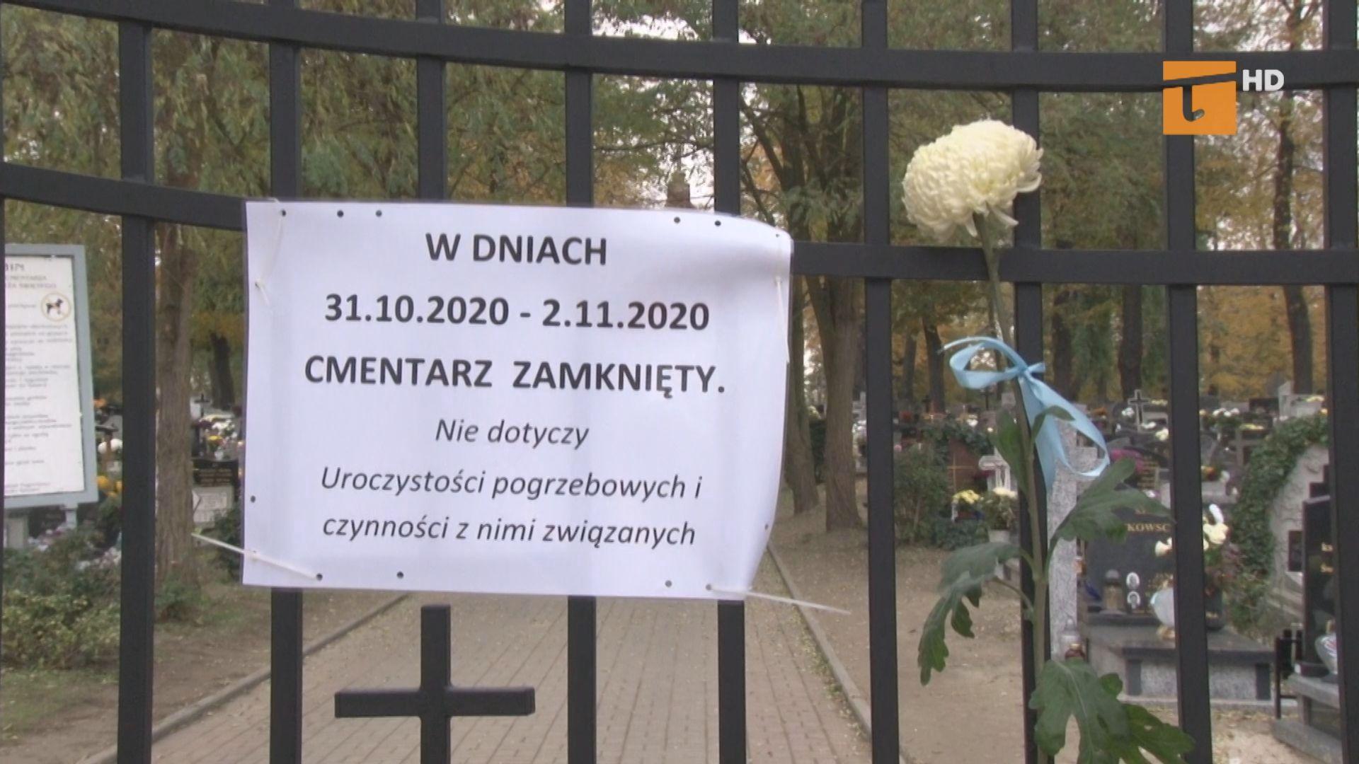 Puste cmentarze także w Tczewie