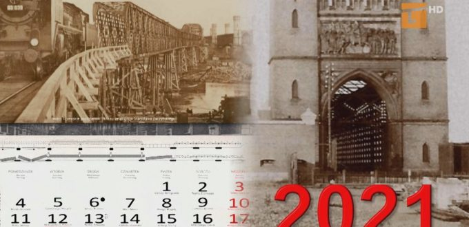Kalendarz na 2021 rok o mostach