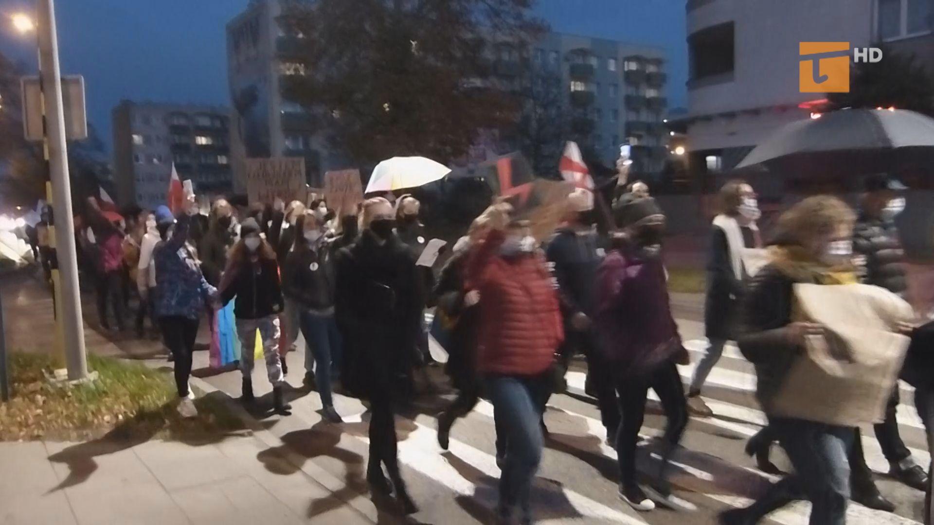 Protestowały na Suchostrzygach