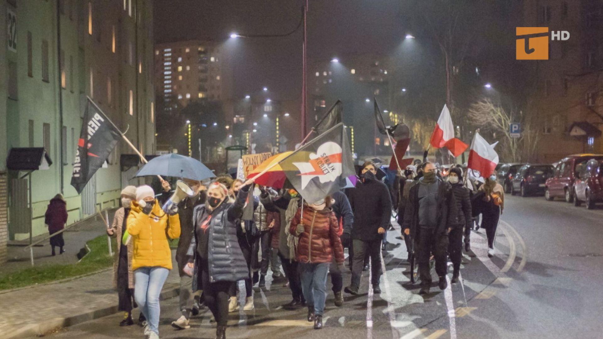 Protestowały w rocznicę stanu wojennego