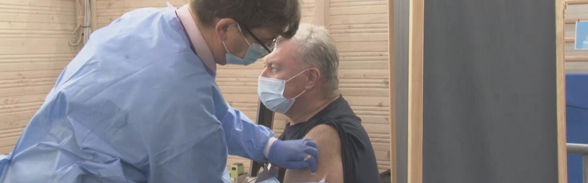 Punkt masowych szczepień już działa