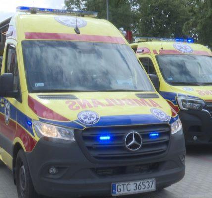 Dwie nowe karetki w Szpitalach Tczewskich