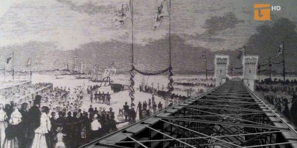 170 lat temu rozpoczęto budowę mostu