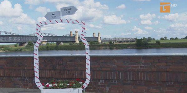 Krem czekoladowy promuje Most Tczewski