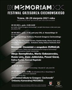 Festiwal In Memoriam 2021