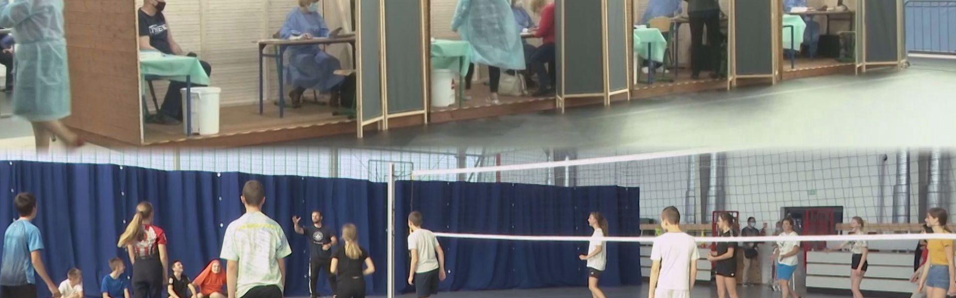 Uczniowie odzyskali halę sportową