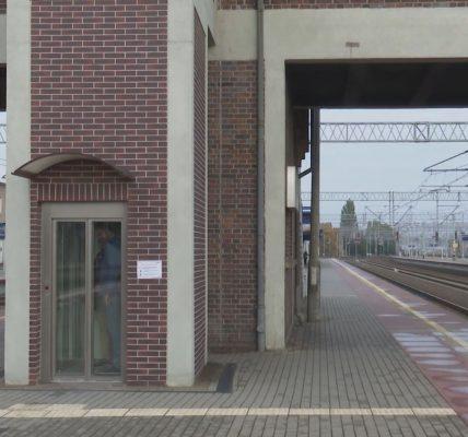 Nowe windy na stacji w Tczewie