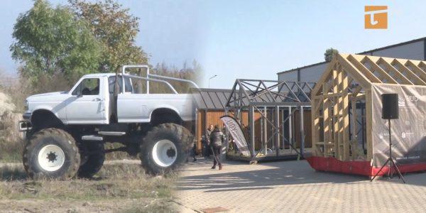 Energetyczne targi z monster truckiem